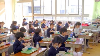 Amazing Japanese handmade school lunches! Japan's elementary school students life Now 2021!