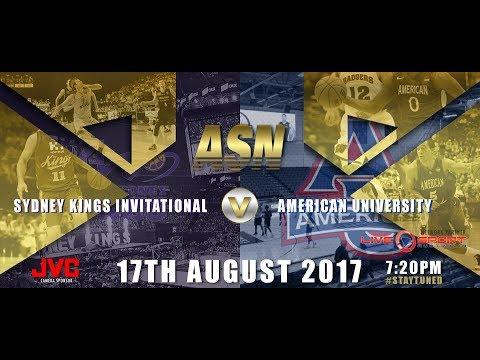 ASNTV: Sydney Kings Invitational v American University
