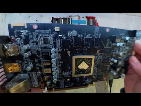 MSI R7 370 Gaming 4GB Thermal Paste Replacement