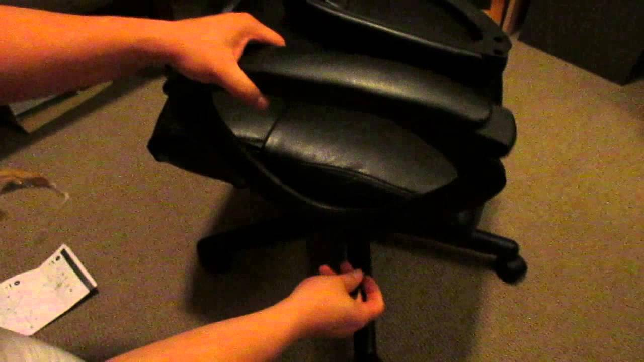 staples turcotte chair brown babyhome high luxura back executive black 50 unboxing boring