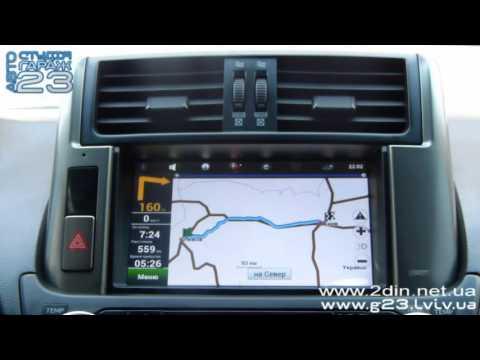Штатная магнитола RoadRover для Toyota Land Cruiser Prado 150 (2009-20113).GPS навигациия