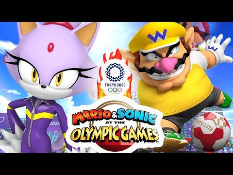 Mario and Sonic at the Olympic Games 2020 VERSUS Multiplayer Part 3