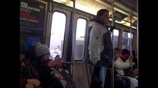 MBTA Orange Line Ride: Wellington to Haymarket