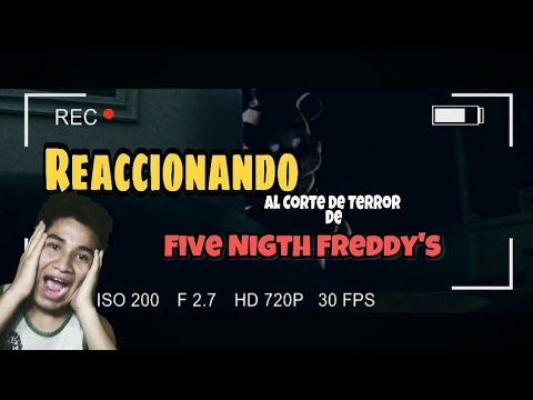 Reaccionando a la película de Five Nights at Freddy's 4