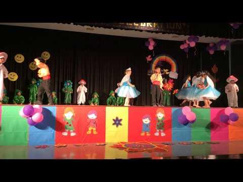 JAINENDRA PUBLIC SCHOOL, CHILDREN'S DAY 2017 Butterflies and Fairies dance