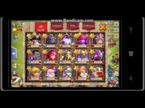 Rolling 1400 Gems In Castle Clash Windows Phone