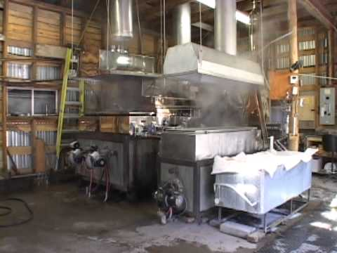 Fultons Maple Syrup Production Youtube