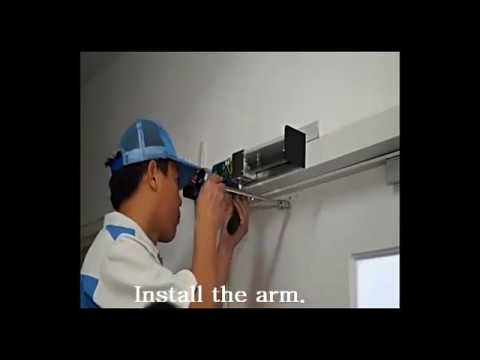 Installation For The Electric Automatic Swing Door Opener