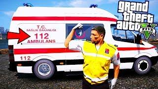 911'İ ARAYIP 112'NİN AMBULANSINI İSTEYEN İNSANLAR! - GTA 5 ACİL SAĞLIK PERSONELİ MODU