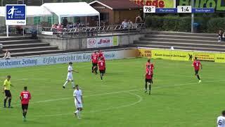 A-Junioren -  1:4 Cedric Schmid - CFR Pforzheim vs SSV Reutlingen 1905 Fußball