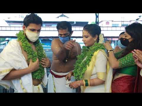 Arun & Ala Marriage @ Guruvayur Temple On 05.06.2020