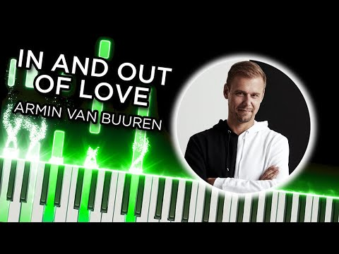 In and Out of Love (Armin van Buuren) FULL SONG - Synthesia piano tutorial