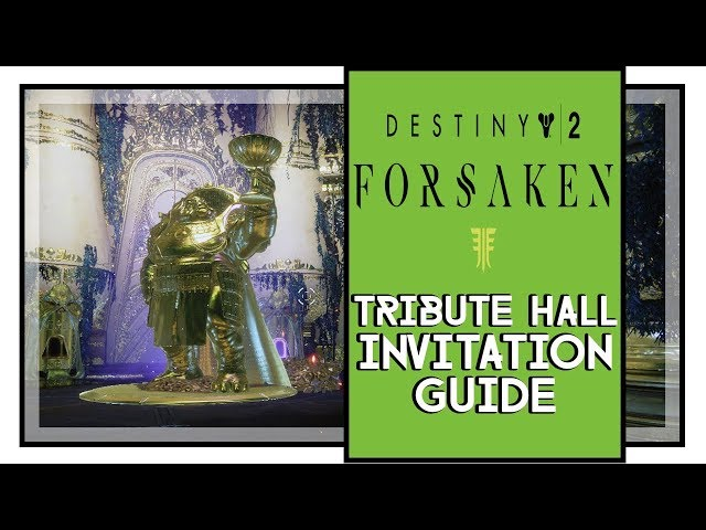 ▷ Destiny 2 How to Get to Tribute Hall - Tips and tricks