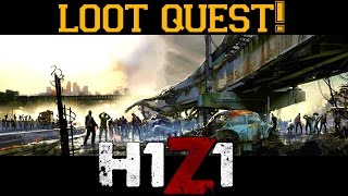 H1Z1▐ The Epic Quest for the Loot Crate at Ruby Lake!