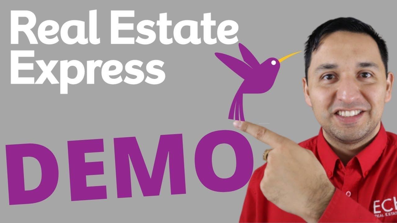 Real Estate Express Demo - REAL ESTATE EXPRESS ONLINE ...