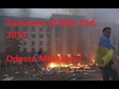What exactly happened on Odessa Massacre, May 2, 2014?
