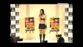 Sexy Japanese Model Mitsu Dan Promotes Safe House DVD