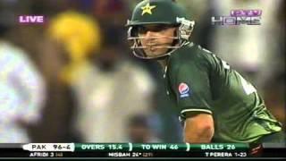 Pakistan Vs Sri Lanka - Hightlights - T20 - 25 November 2011 - Pt6