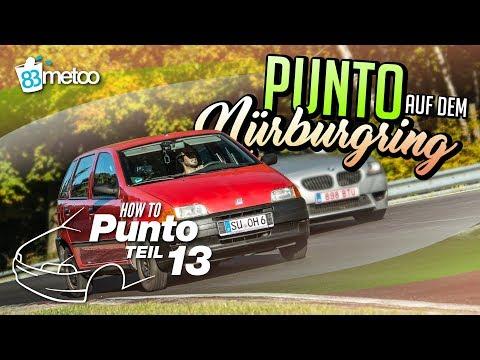 83metoo mit dem Fiat Punto auf dem Nürburgring
