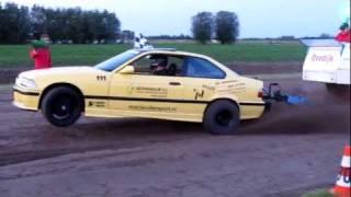 Carpulling Snelrewaard 2011 Trouble Maker finale autotrek