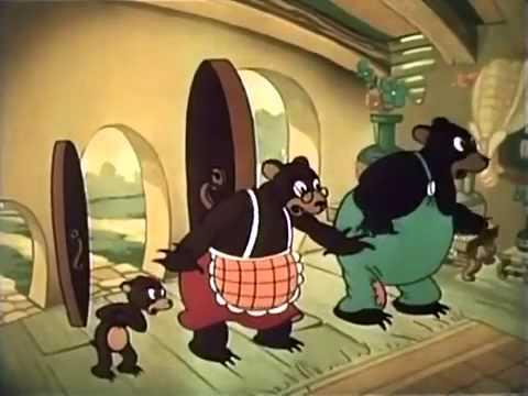 tegnefilm de tre bj rne youtube