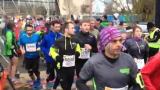 Départ du demi-marathon du Beaujolais