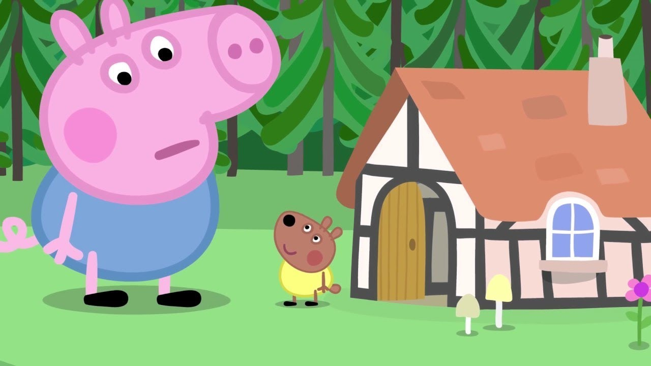 Peppa Pig Francais George Le Geant 30 Minutes Dessin Anime Youtube