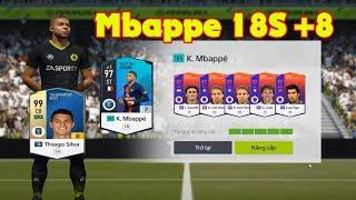 FIFA ONLINE 4, Những màn ép thẻ Cộng 8 khủng với Mbappe cùng Silva của Phong Plus