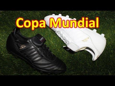 Adidas Copa Mundial Whiteout & Blackout - Unboxing + On Feet