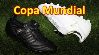 Adidas Copa Mundial Whiteout & Blackout - Unboxing + On Feet