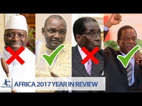 5 African Presidents Who Lost Power in 2017