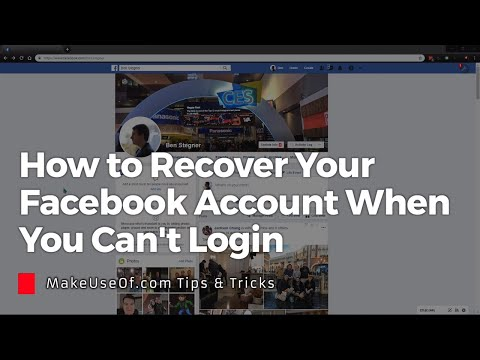 How to Recover Your Facebook Account When You Can No Longer Log In