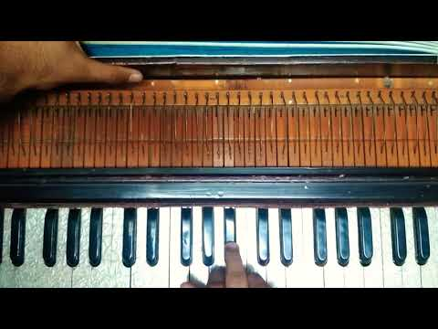 Aankh se aankh milao on harmonium by Rahat...