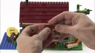 Lego® Creator Designer Tips - Summer Log Cabin