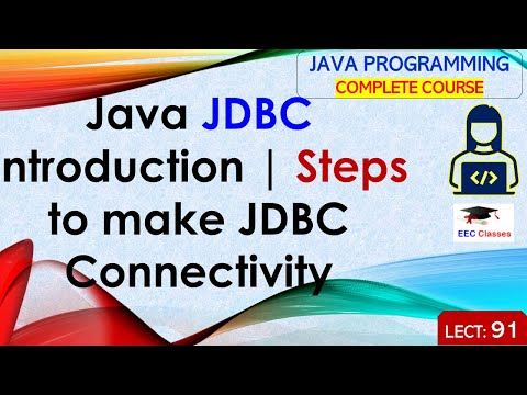 Java JDBC Introduction - Java Database Connectivity, Steps to Connect Database with Java