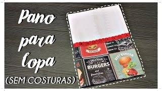 PANO DE COPA SEM COSTURAS/ DIANE GONÇALVES