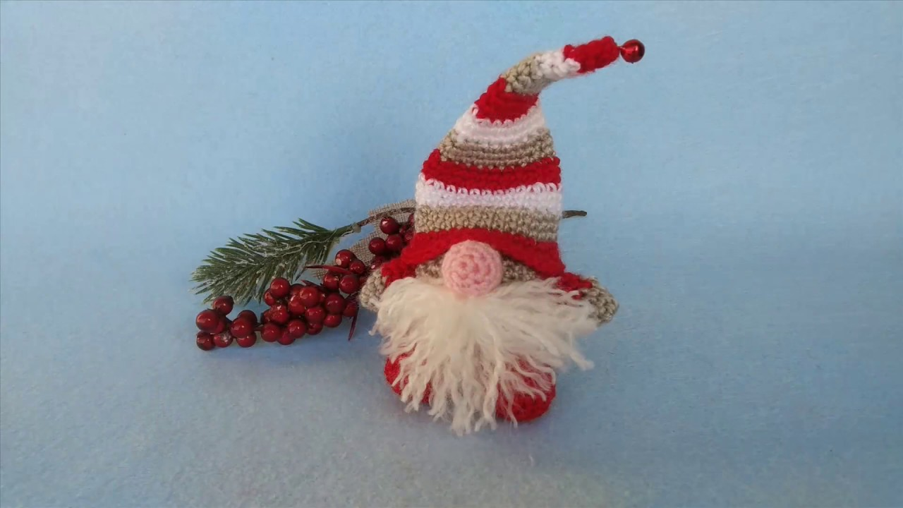 Amigurumi Natale.Gnomo Uncinetto Natale Amigurumi Elf Crochet Christmas Amigurumi Navidad Gnomo Youtube