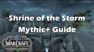 bfa shrine of the storm mythic guide