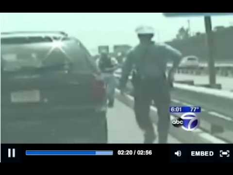 Police Turf War NJ State Trooper Pulls Gun On Undercover Cop Crazy Scene NJ Turnpike