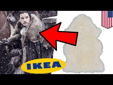 Game Of Thrones Rugs From Ikea Used To Make Costumes For - Create your own game of thrones ikea instructions
