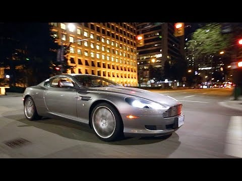 Here's Why the V12 Aston Martin DB9 is Perfect for a Midnight Run