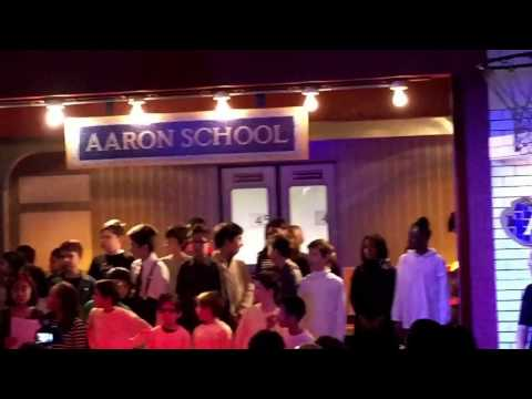 December 2016-Aaron School NYC - lower school chorus performing