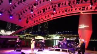 过年曲演唱会在新加坡滨海公园1