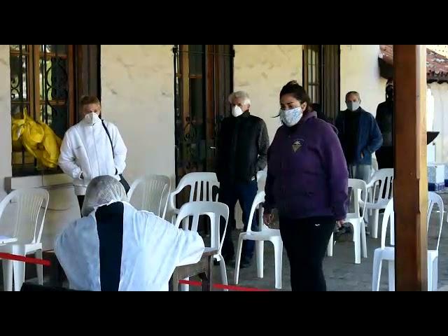 Testeo masivo covid-19 en La Cumbre