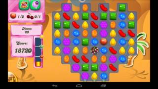Candy Crush Saga Level 117 Walkthrough