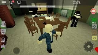 Première vidéo De Roblox -Criminal Simulator