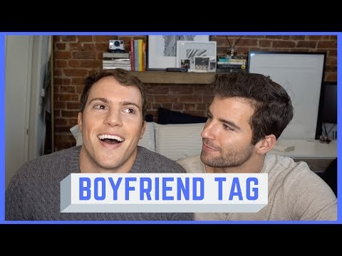 BOYFRIEND TAG / GET TO KNOW US | Taylor Phillips