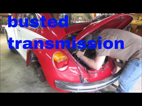 vw bug transmission swap.