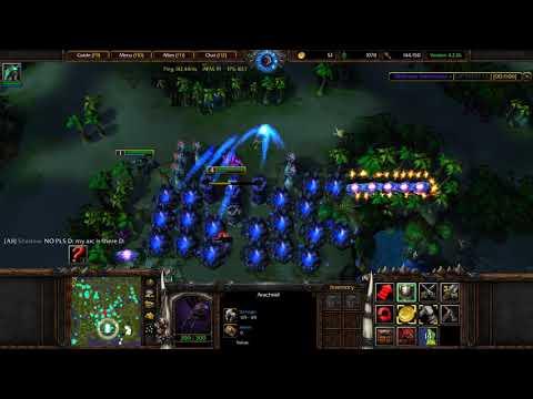 Island Defense Warcraft 3 Builder Gameplay 5 |