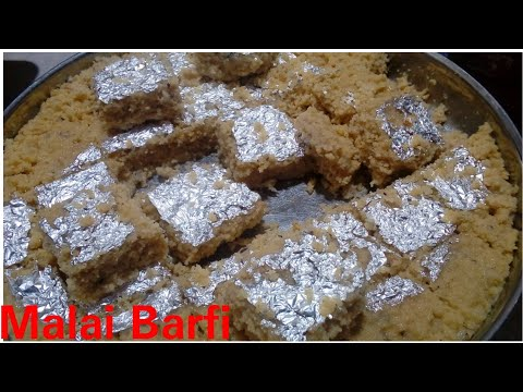 Malai Barfi recipe by Kitchen with Rehana